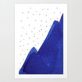 Ultramarine series #3 Art Print