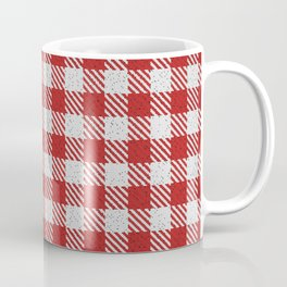 Fire Brick Buffalo Plaid Coffee Mug
