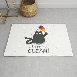Keep it clean! Rug