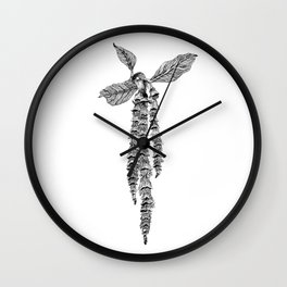 Garrya Elliptica Wall Clock