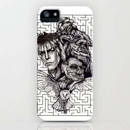 Labrynth iPhone Case