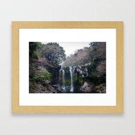 Cheonjeyeon Falls No. 2 Framed Art Print