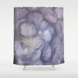 Deep Purple Shower Curtain