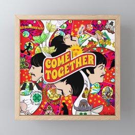 Come Together Framed Mini Art Print