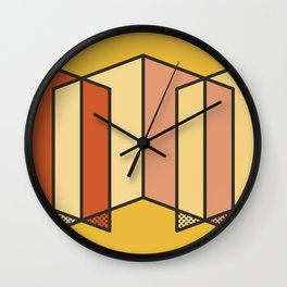 Color Walls 013 Wall Clock