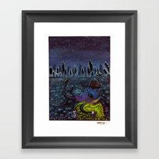 Land Lover Framed Art Print