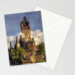 Spectacularly Beautiful Cochem Castle River Mosel Rhineland Palatinate Germany Europe Ultra HD Stationery Cards