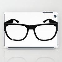 glasses iPad Cases featuring Glasses by Bjarni Bragason
