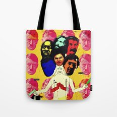 Connect-I-Cut (The 7 Headed Beast) Tote Bag