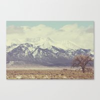 colorado Canvas Prints featuring Colorado by Amy Harlow