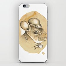 Gentleman Chinchilla iPhone & iPod Skin