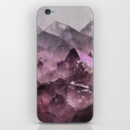 Quartz Mountains iPhone Skin