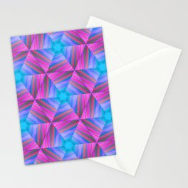 bubbles 7 pinwheel Stationery Cards