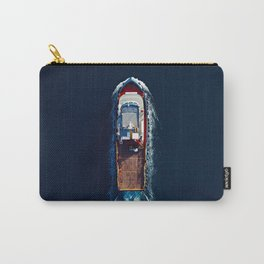 Tug Boat Top View | Aerial Photography  Carry-All Pouch