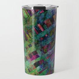 Palms in Multi-Color Travel Mug