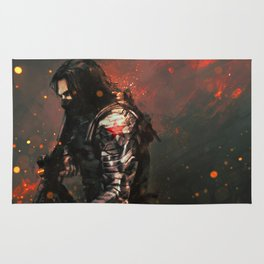 Blood in the Breeze Rug