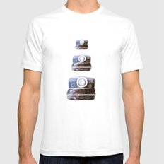 Polaroid SMALL Mens Fitted Tee White