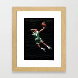 PIXEL ART DB Framed Art Print