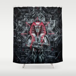 The Future King Shower Curtain