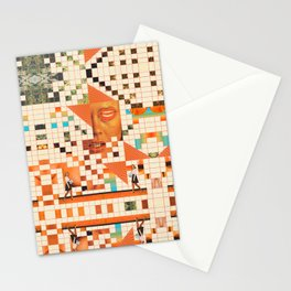 Orange poem Stationery Cards