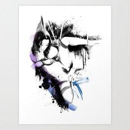 Shibari - Japanese BDSM Art Painting #10 Kunstdrucke