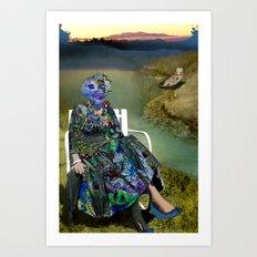 Spacious Shame Art Print