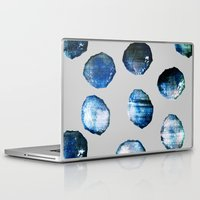 mineral Laptop & iPad Skins featuring mineral 03 by LEEMO