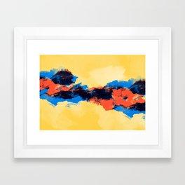 Tectonic Framed Art Print