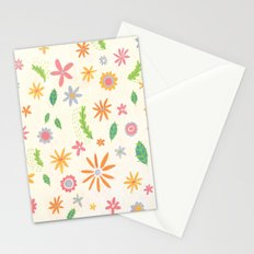 Colourful Daisies Stationery Cards