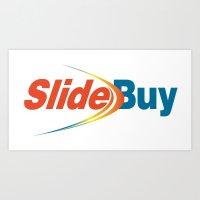 Slidebuy Logo Art Print