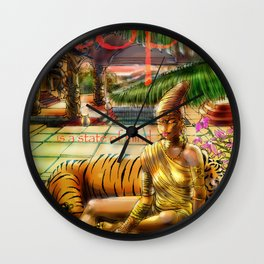 Utopia is indeed a state of mind. Wall Clock