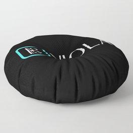 Viola with Alto Clef Floor Pillow