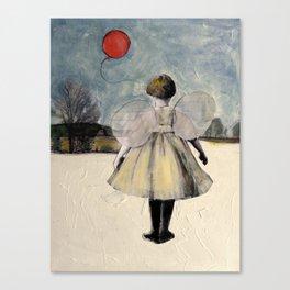 The Red Ballon Canvas Print