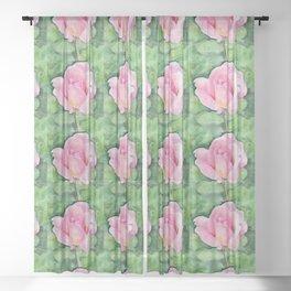 Tiffany Rose Sheer Curtain