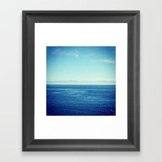 Channel Islands In Mist Framed Art Print