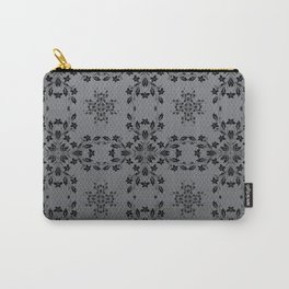 Floral Vines Wallpaper Carry-All Pouch