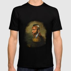 Mr. T - replaceface LARGE Black Mens Fitted Tee