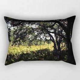 Palmettos in the shade  Rectangular Pillow