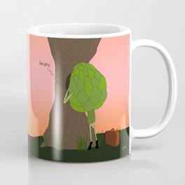 raw artichoke. Coffee Mug