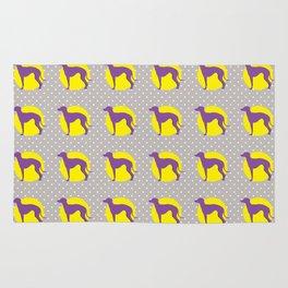 Italian Greyhound - Pattern One Rug