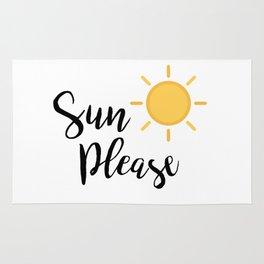 Sun Please Rug