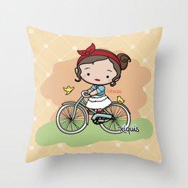 Paseo Vintage Throw Pillow
