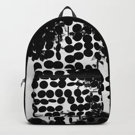 Black and White Circles Backpack