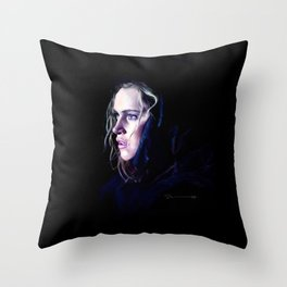 Clarke Griffin - The 100 Throw Pillow