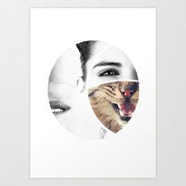 volte face Art Print
