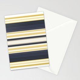 Nautical Stripes Pattern Stationery Cards