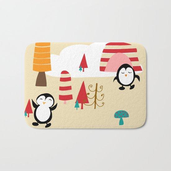 Oriana Penguin Bath Mat