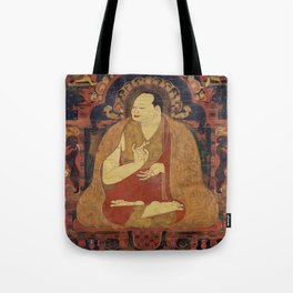 Zen Buddha Garden Tote Bag