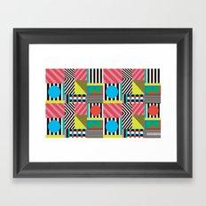 Spring in love Framed Art Print