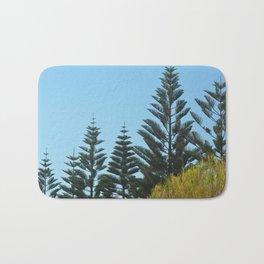 Australian Pine Trees Bath Mat
